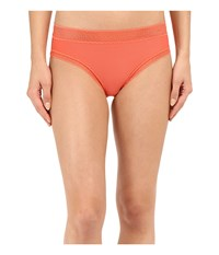 Exofficio Give N Go Lacy Bikini Brief Hot Coral Women's Underwear Red