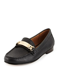 Coach Kimmie Leather Loafer Black