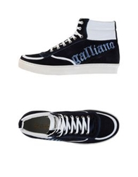 Galliano High Tops And Trainers Dark Blue
