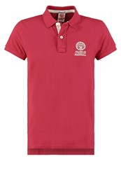 Franklin And Marshall Regular Fit Polo Shirt Earth Red Bordeaux