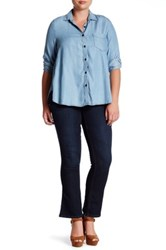 Democracy Itty Bitty Bootcut Jean Plus Size Blue