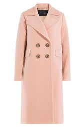 Tara Jarmon Coat With Virgin Wool And Cashmere Rose