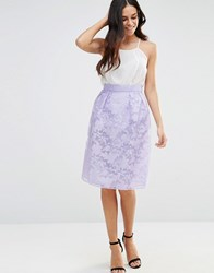 Lashes Of London Poppy Prom Skirt Purple