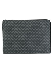 Logo Print Laptop Case Grey
