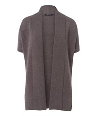 Olsen Short Sleeves Cardigan Brown