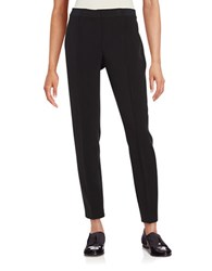 T Tahari Straight Leg Dress Pants Black