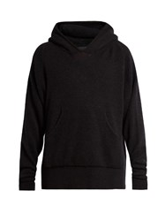 Haider Ackermann Xaviera Hooded Sweatshirt Black