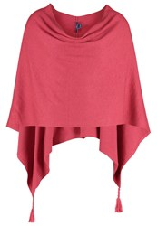 Tom Tailor Cape Frozen Berry Sorbet Red