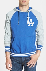 Mitchell And Ness 'Los Angeles Dodgers Extra Innings' Pullover Hoodie Blue
