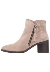 Zign Ankle Boots Beige Taupe