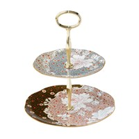Wedgwood Daisy Tea Story 2 Tier Cake Stand