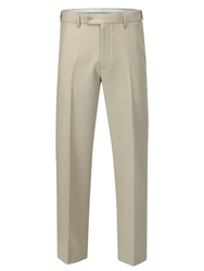 Skopes Levante Loose Fit Formal Tailored Trousers Sand