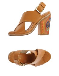 Paul And Joe Footwear Sandals Women Camel
