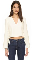 Finders Keepers Fly Away Top White