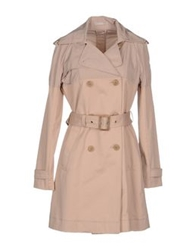 Stefanel Full Length Jackets Beige