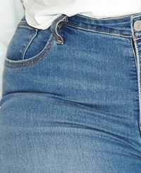 Levi's Plus Size 310 Shaping Super Skinny Clear Sky Wash Jeans
