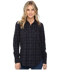 Vans No Ones Flannel Black Women's Clothing