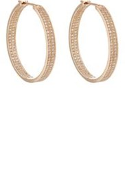 Repossi Women's Berbere Classic Medium Hoop Earrings Red