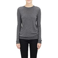 Barneys New York Women's Cashmere Crewneck Sweater Grey