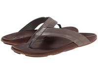 Olukai Maka Charcoal Dark Java Men's Sandals Brown