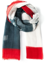 Woolrich Printed Scarf Multicolour