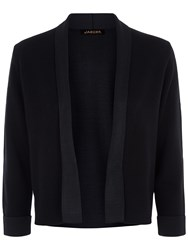 Jaeger Double Faced Knitted Jacket Black