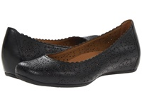 Bindi Earthies Black Full Grain Leather Women's Flat Shoes