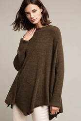 Anthropologie Cannes Ribbed Sweater Moss