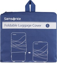 Samsonite Foldable Luggage Cover Large Indigo Blue