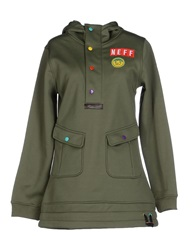 Neff Sweatshirts Military Green