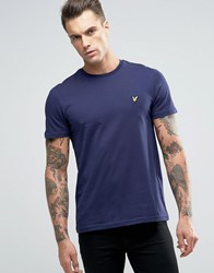Lyle And Scott T Shirt Eagle Logo In Navy Navy