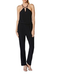 Laundry By Shelli Segal Sleeveless Jumpsuit Dark Sapphire