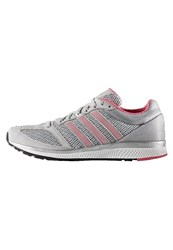Adidas Performance Mana Rc Bounce Neutral Running Shoes Solid Grey White Bahia Pink Light Grey