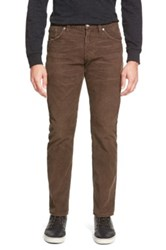 Citizens Of Humanity 'Holden' Straight Leg Corduroy Pants Brown