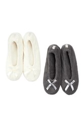 Gold Toe Ballerina Slipper Pack Of 2 Multi