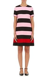 Lisa Perry Women's Striped A Line Dress No Color