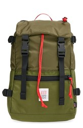 Men's Topo Designs 'Rover' Backpack Green Olive