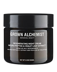 Grown Alchemist Regenerating Night Cream Neuro Peptide And Violet Leaf Extract No Color