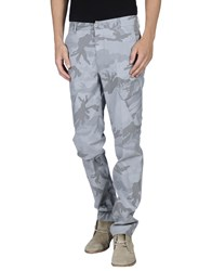 Dondup Trousers Casual Trousers Men Light Grey