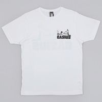 Gasius No Shit Sherlock Tee White