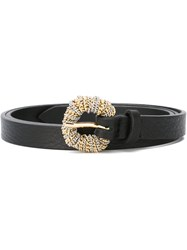 Orciani Chain Buckle Belt Black