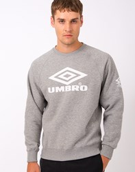 Umbro By Kim Jones Umbro Pro Training Classic Crew Sweatshirt Grey