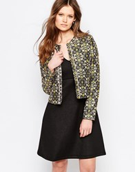 Traffic People Pepper Jacket In Jacquard Black
