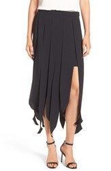 Trouve Women's Carwash Midi Skirt