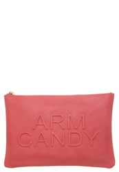 Miss Selfridge Arm Candy Clutch Pink Rose