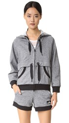 Adidas By Stella Mccartney Essentials Hoodie Black White