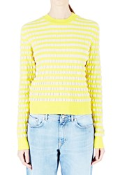 Marni Striped Sweater Yellow