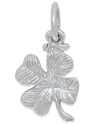 Rembrandt Charms Sterling Silver Four Leaf Clover Charm