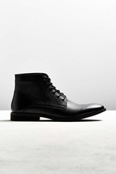 Urban Outfitters Uo Distressed Lace Up Boot Black