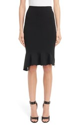 Givenchy Women's Side Zip Crepe Jersey Skirt